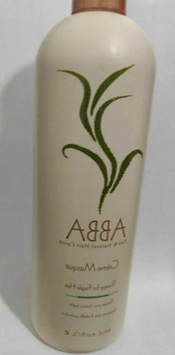 2 pack ABBA pure & natural hair care creme-masque 500ml 16.9