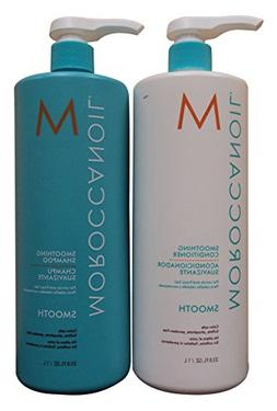 Moroccanoil Smooth Shampoo and Conditioner