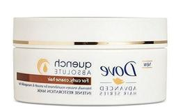 DOVE ADVANCED ABSOLUTE QUENCH RESTORATION MASK CURLY COARSE