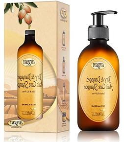 Moroccan Argan Shampoo for Dry Damaged Hair - Exclusive Herb