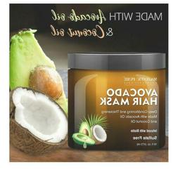 Majestic Pure Avocado Coconut Hair Mask Dry Damaged Hair Sul