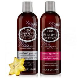 HASK Beauty KERATIN PROTEIN Smoothing Shampoo and Conditione
