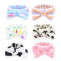 Bow Hair Band, Soft Carol Fleece Hairlace Headband Turban Bo