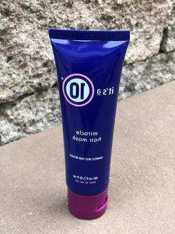 BRAND NEW It's A 10 Miracle Hair Mask 2 Oz Travel Size Hairc
