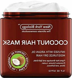 Coconut Hair Mask for Hair Growth and Volume - Infused with