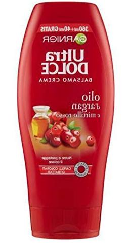 """Garnier:""""Ultra Dolce""""  Conditioner with Argan Oil and Cranbe"""