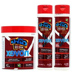 Novex My Curls Movie Star Shampoo + Conditioner 10.1oz + Hai