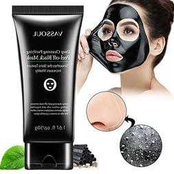 Vassoul Blackhead Remover Mask, Peel Off Blackhead Mask, Bla
