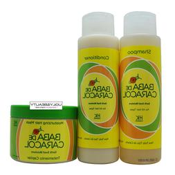 Baba De Caracol Earth Snail Moisture Shampoo, Conditioner, &