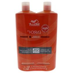 WELLA Elements Enrich Shampoo and Conditioner Duo for Fine H