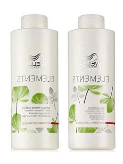 Wella Elements Organic Renewing Shampoo + Lightweight Renewi