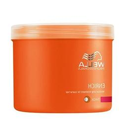 Wella Enrich Moisturising Treatment Mask 500ml Coarse/thick
