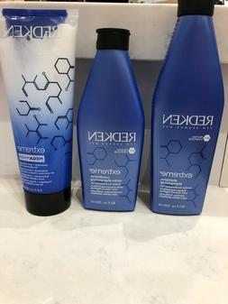 Redken Extreme Hair Care Set  - Shampoo, Conditioner, & Mega