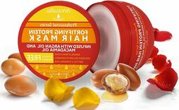 Fortifying Protein Hair Mask and Deep Conditioner with Argan