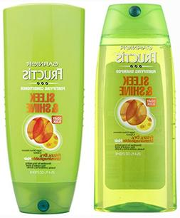 Garnier Fructis Set Sleek and Shine, Shampoo and Conditioner
