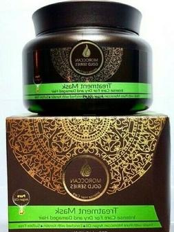 FULL SIZE & NEW IN BOX Moroccan Gold Series Treatment Hair M