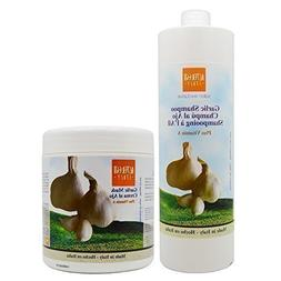 "Alter Ego Garlic Shampoo + Garlic Mask w/ Vitamin ""A"" 1000ml"