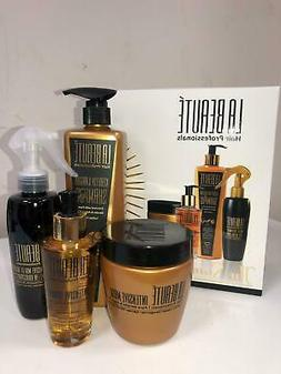 La Beaute Gift Set Protein Shampoo + Hair Mask + Intensive S