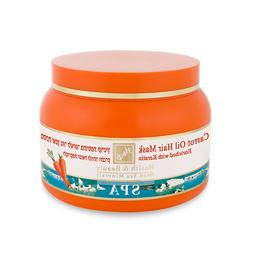 H&B Dead Sea Minerals Carrot Oil Hair Mask Enriched with Ker