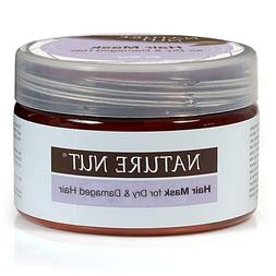 Nature Nut Hair Mask for Dry Colored & Damaged Hair Natural