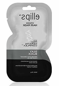 Ellips Hair Mask  - Silky Black , 18 Gram