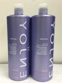 ENJOY Hair Smoothing Mask 33.8 1 L 2 PACK SPECIAL New Packag