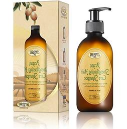 Hair Strengthening Argan Shampoo - Exclusive Herbal Oils Ble