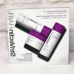 STRIVECTIN HAIR Ultimate Restore Shampoo Conditioner Deep Re