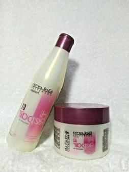 SALERM HI REPAIR 01- PROF. LINE SHAMPOO 9.0 OZ + Mask 02 for