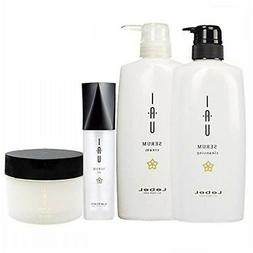 IAU SERUM With Instructions LebeL Set Shampoo Treatment Mask