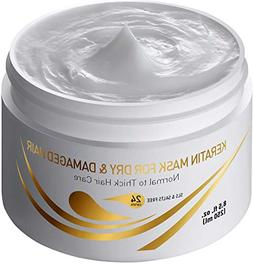 Keratin Dry & Damaged Deep Conditioner Mask - Thick Coarse H