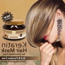Keratin Hair Mask For Smoothed Hair Split Ends H&B Dead Sea
