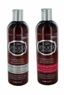 Hask Keratin Protein Smoothing Shampoo & Conditioner 355Ml b