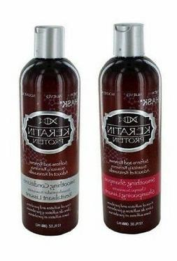 Hask Keratin Protein Smoothing Shampoo & Conditioner 355Ml.
