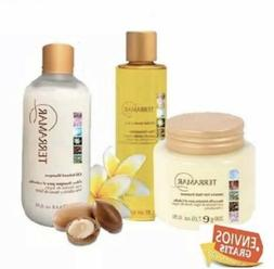 KIT 3  ITEMS OIL HAIR SERUM , SHAMPOO AND MASK INTENSIVE 3 i