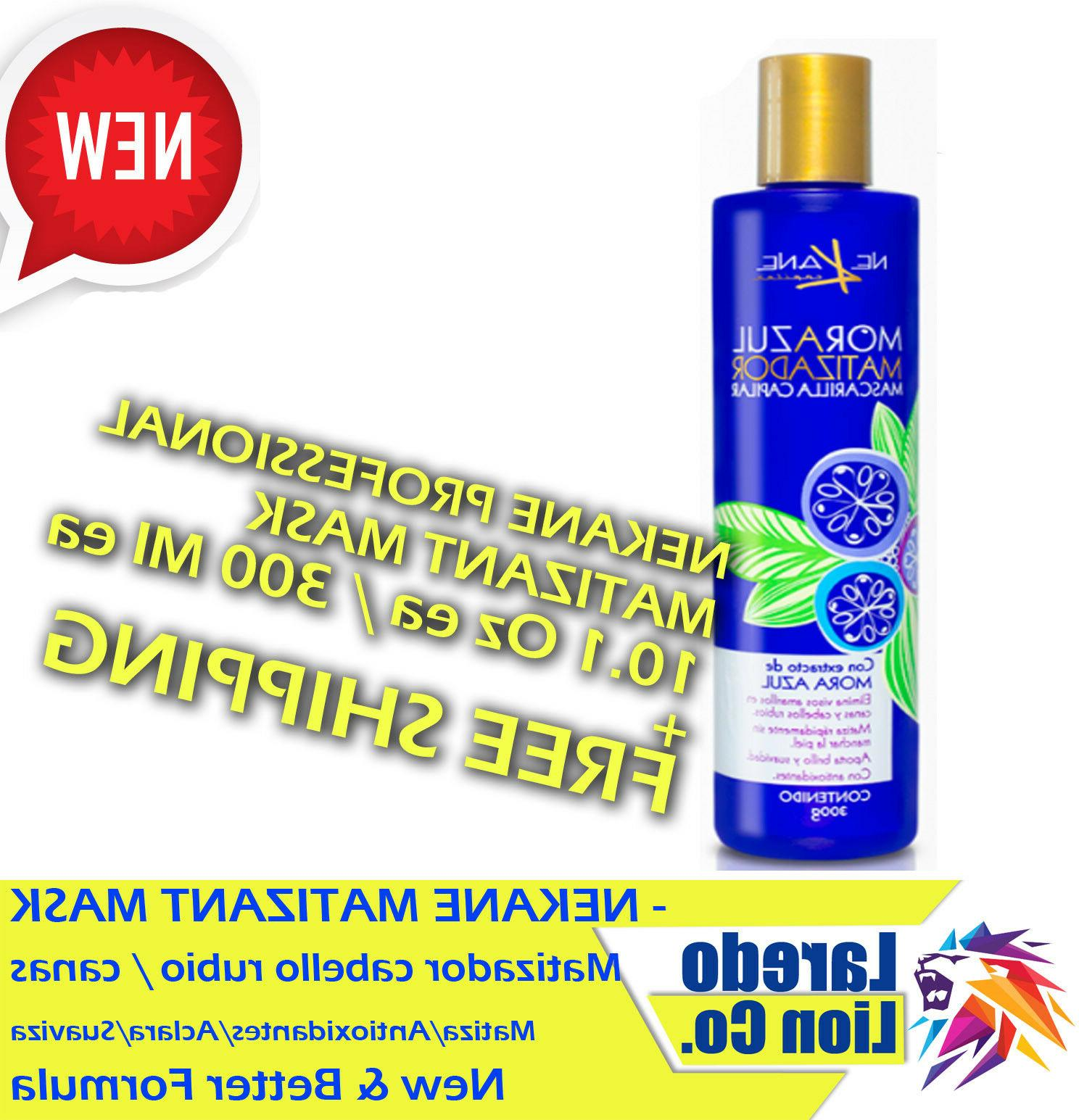 1 hair mask blueberry matizant for gray