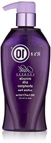 It's a 10 Haircare Silk Express Miracle Silk Shampoo, 10 fl.