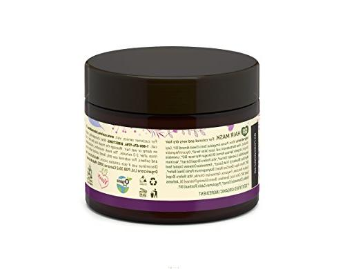 100% mask by ecoLove Organic grape & colored very dry hair 11.8fl 350ml