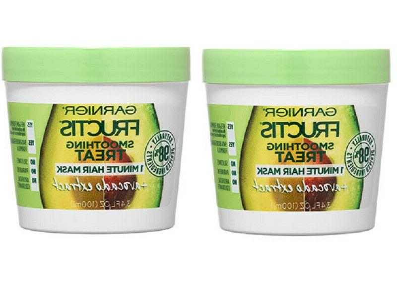 2 x fructis smoothing treat 1 minute