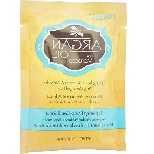 Hask Argan Oil From Morocco Deep Conditioner, Hair 1.75