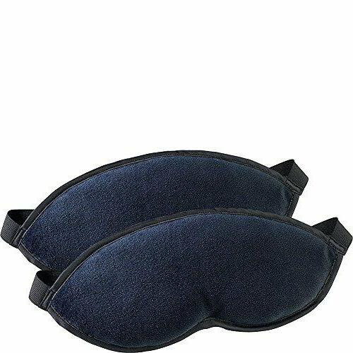 Lewis N. Clark Comfort Eye Mask With Adjustable Straps Block