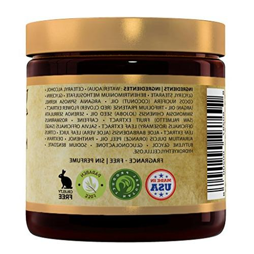 TruePure Natural Hair Mask With Oil, Jojoba Palmetto | For With Dry, Damaged Color Fragrance-Free 8oz