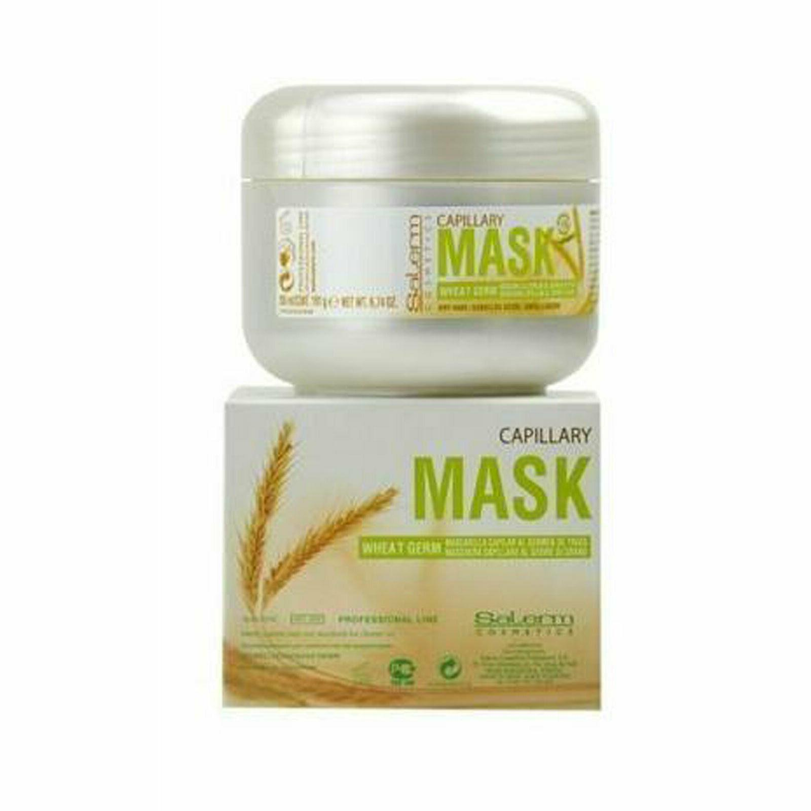 Salerm Wheat Germ Capillary Mascarilla Capillar Hair Mask 20