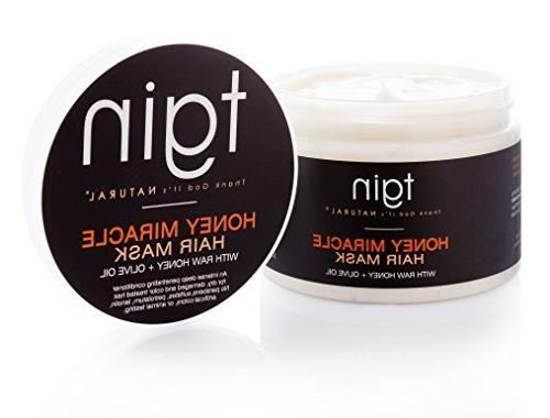 tgin Miracle Mask Deep Raw Honey & Olive Oil For Natural - - Curly 12