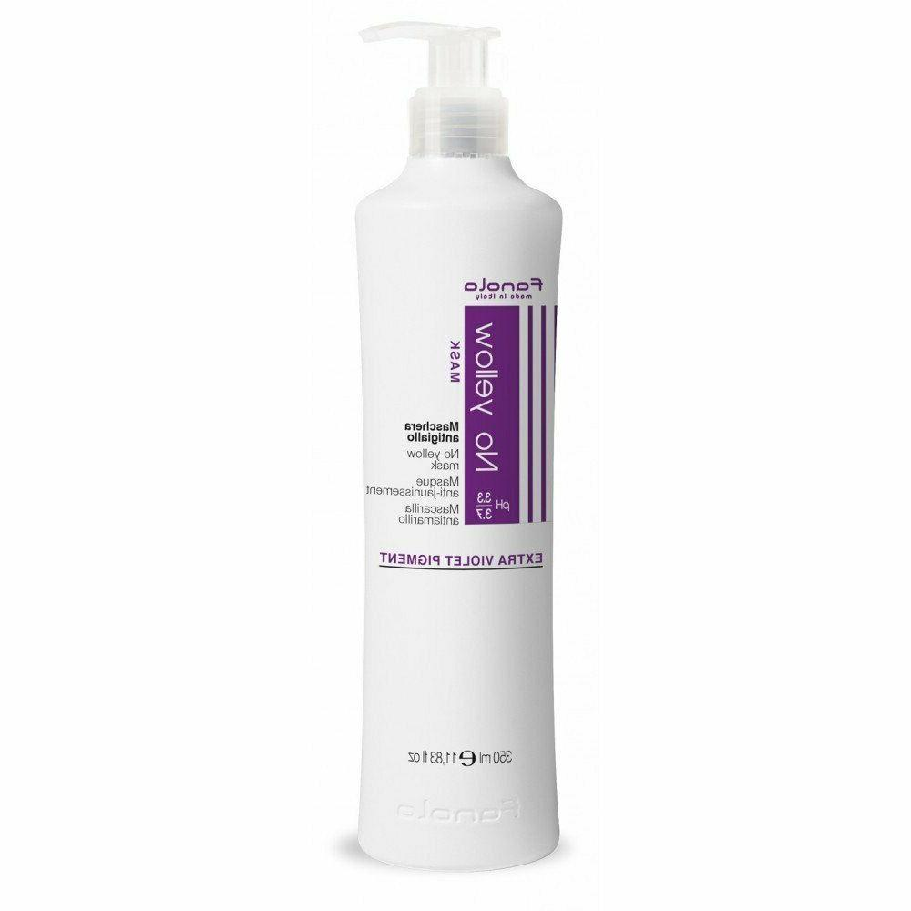 Shampoo & No Yellow Ideal For Grey Lightened Hair