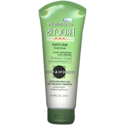 fructis melting masque over processed