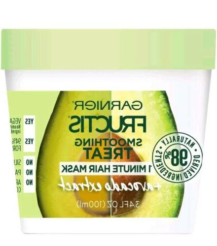 2 fructis smoothing treat 1 minute hair