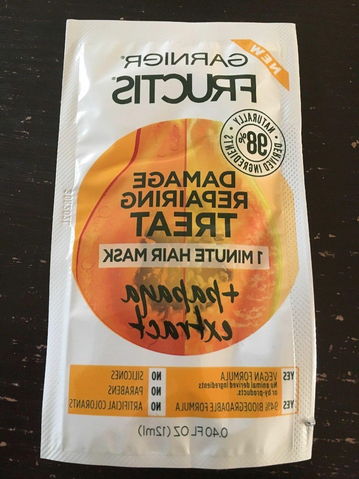 garnier damage repairing treat 1 minute hair