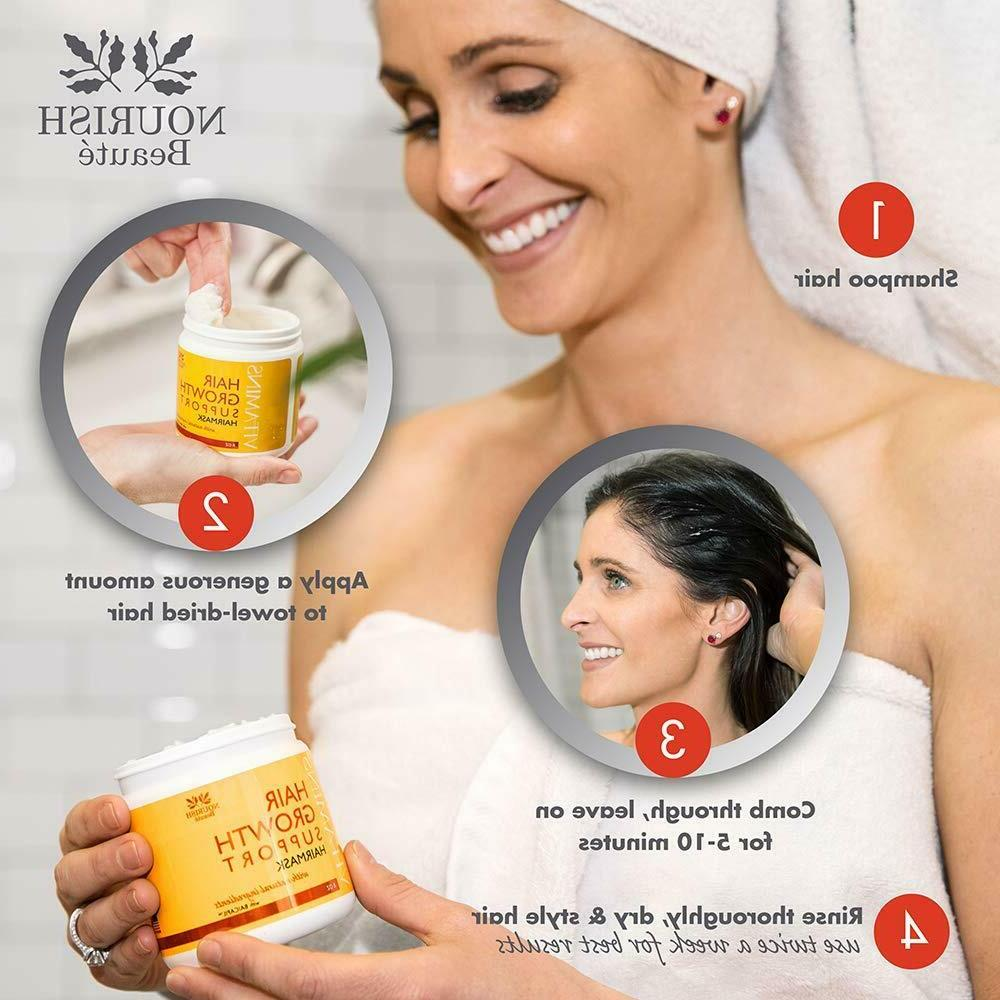 Hair for Damaged Hair Deep Conditioning Hair Treatment Mask – and
