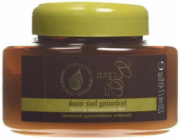 Argan Oil Hydrating Hair Mask With Moroccan Argan Oil Extrac